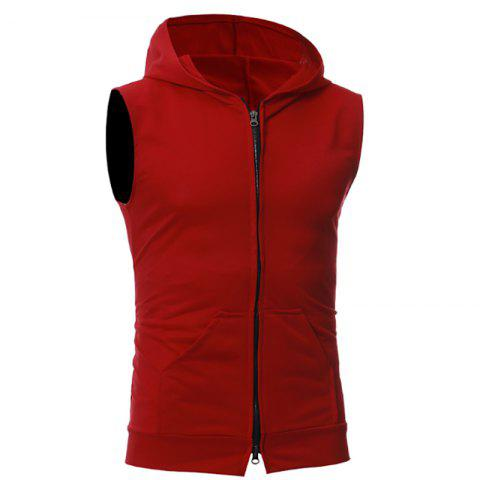 Store New Men's Simple Candy-Colored Sport Vest