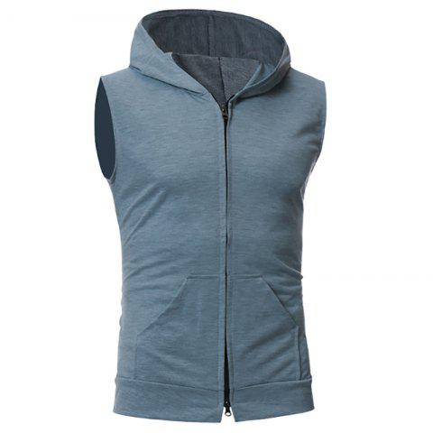 Chic New Men's Simple Candy-Colored Sport Vest