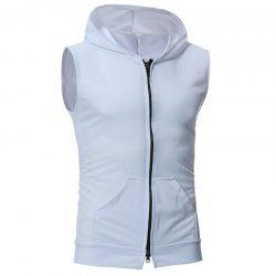 New Men's Simple Candy-Colored Sport Vest -