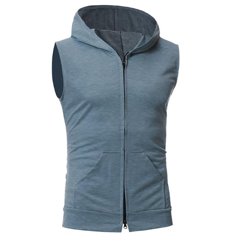 Sale New Men's Simple Candy-Colored Sport Vest