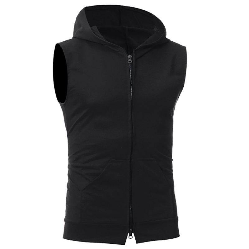 Hot New Men's Simple Candy-Colored Sport Vest