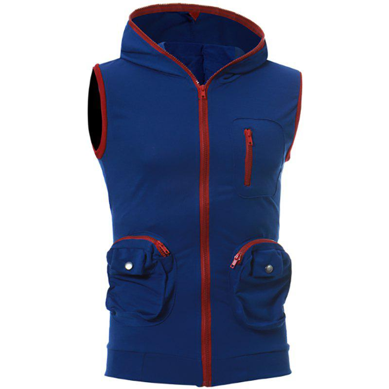 Shops Men's Casual Three-Dimensional Pocket Design Fashion Vest