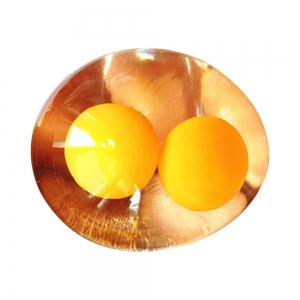 Double Yellow Egg Creative Water Polo Toy -
