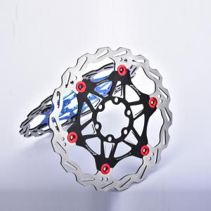 Mountain Bike 6 Nails 180mm Color Float Floating Disc Brake Rotor Cycling Bicycle Rotors -