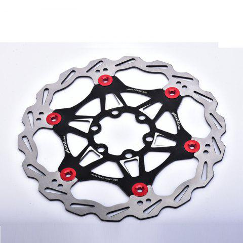 Fancy Mountain Bike 6 Nails 180mm Color Float Floating Disc Brake Rotor Cycling Bicycle Rotors