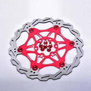 Mountain Bike 6 Nails 160mm Color Floating Disc Brake Rotor Cycling Bicycle Rotors -