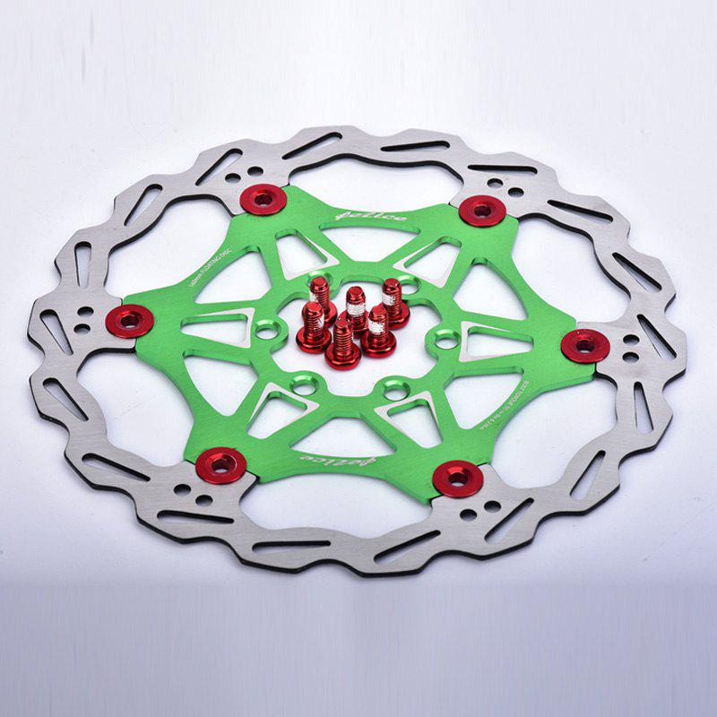 Outfit MTB DH 6 Nails 160mm Color Floating Disc Brake Rotor Cycling Bicycle Rotors