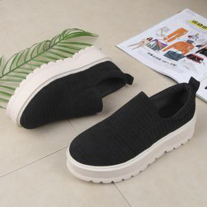 2018 New Style Fashion Round Toe Solid Color Rubber Soled Shoes -