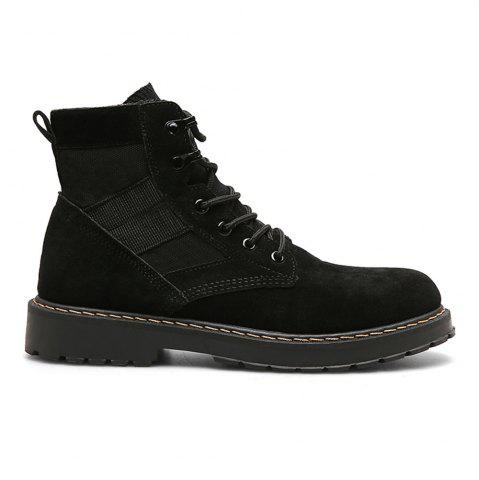 Fashion Male Martin Boots Winter Working Boots with High Upper