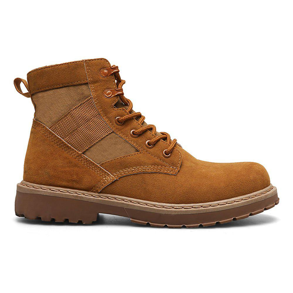 New Male Martin Boots Winter Working Boots with High Upper