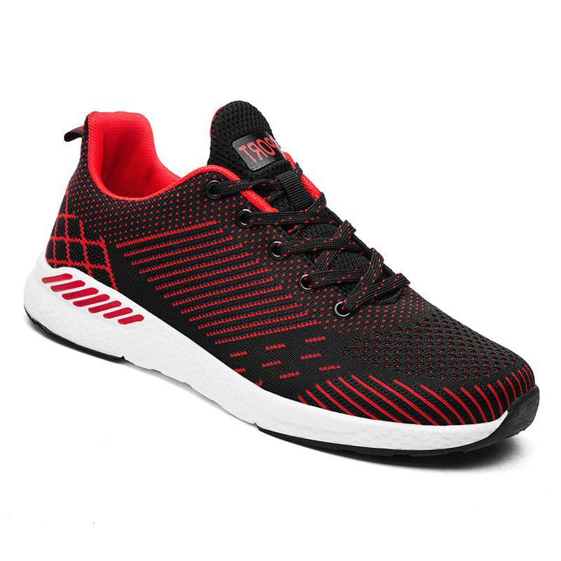 Fashion Flying Knitted Unisex Running Shoes