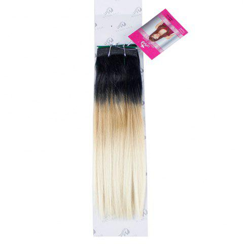 Affordable Ombre Synthetic  Straight Hair Extensions Hairpieces for Women 2PCS