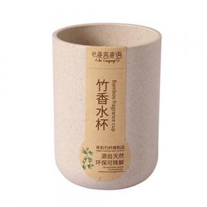 Bamboo Fiber Plastic Bamboo Fragrant Straight Body Cup Natural Environmental Protection -