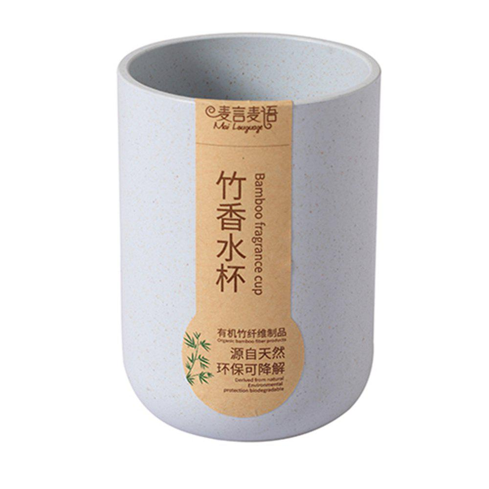Store Bamboo Fiber Plastic Bamboo Fragrant Straight Body Cup Natural Environmental Protection
