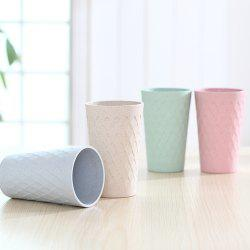 Bamboo Fiber Plastic Bamboo Fragrant Diamond Cup Natural Environmental Protection -