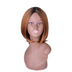 Hairyougo T4111 Medium Length BoBo Style High Temperature Fiber Wig -