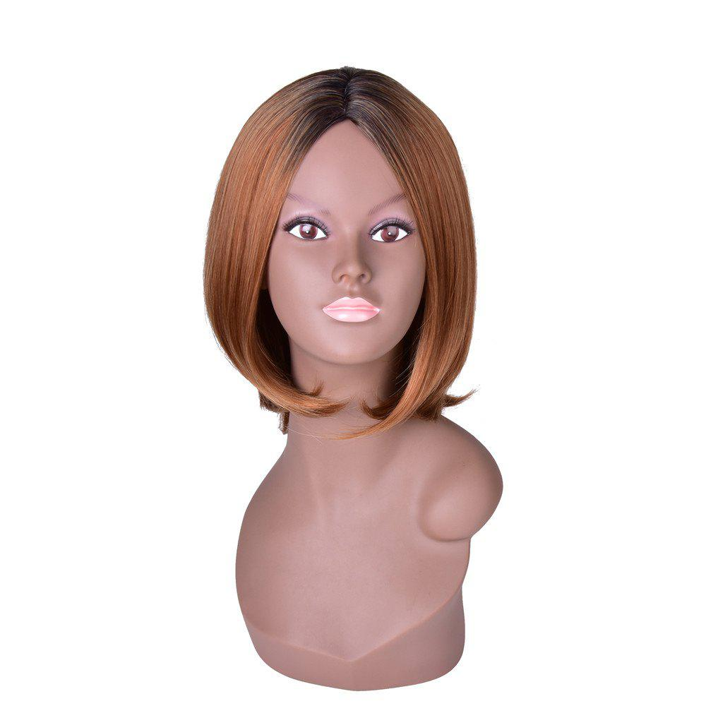Trendy Hairyougo T4111 Medium Length BoBo Style High Temperature Fiber Wig