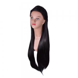Hairyougo 4271 85cm/34 inch Long Straight High Temperature Fiber Wig -