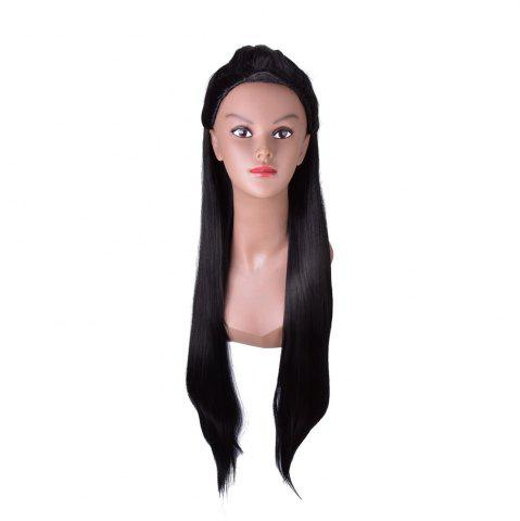 Shop Hairyougo 4271 85cm/34 inch Long Straight High Temperature Fiber Wig