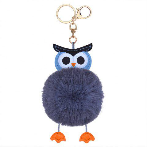 Outfit Owl Styling Fur Flocculus Keychain
