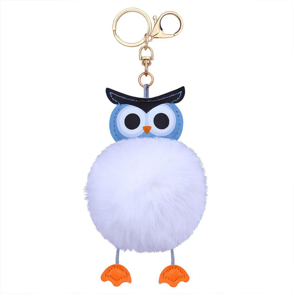 Hot Owl Styling Fur Flocculus Keychain