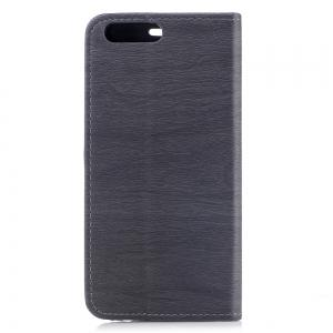 Cover Case for One Plus 5 Card Holder with Stand Flip Full Body Lines / Waves Hard PU Leather -