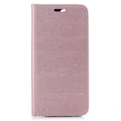 Housse de protection pour One Plus 5 Card Holder avec support Flip Full Body Lines / Waves dur PU cuir