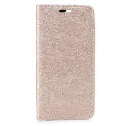 Housse de protection pour One Plus 5 Card Holder avec support Flip Full Body Lines / Waves dur PU cuir -