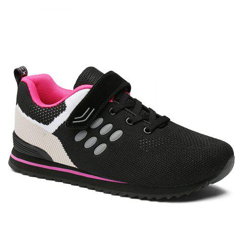Fancy Walking Sneakers Ladies Jogging Outdoor Flat Soft Non-Slip Shoes