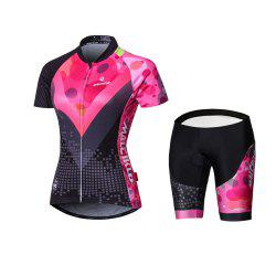 Malciklo 18 New Products Summer Cycling Jersey Tights Woman Short Bike Compression Suits -