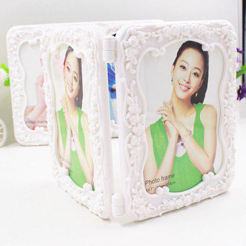Fancy Stereoscopic Folding Photo Frame 7 Inch Photo Frame Wedding Photo Frame