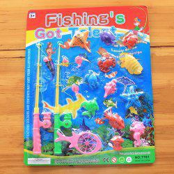 Marine Fish Child Favorite Fishing Toy with Magnet -
