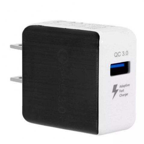 Online Quick Charge 3A USB Wall Charger US Plug QC3.0 Mini Travel Charger