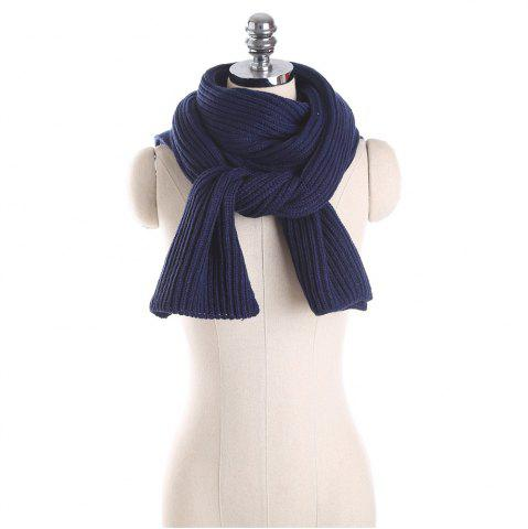 Unique M1710 Knitted Cross Knitted Scarf