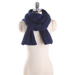 M1710 Knitted Cross Knitted Scarf -
