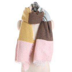 M1717 Rainbow Collage Sand Sequins Scarf -