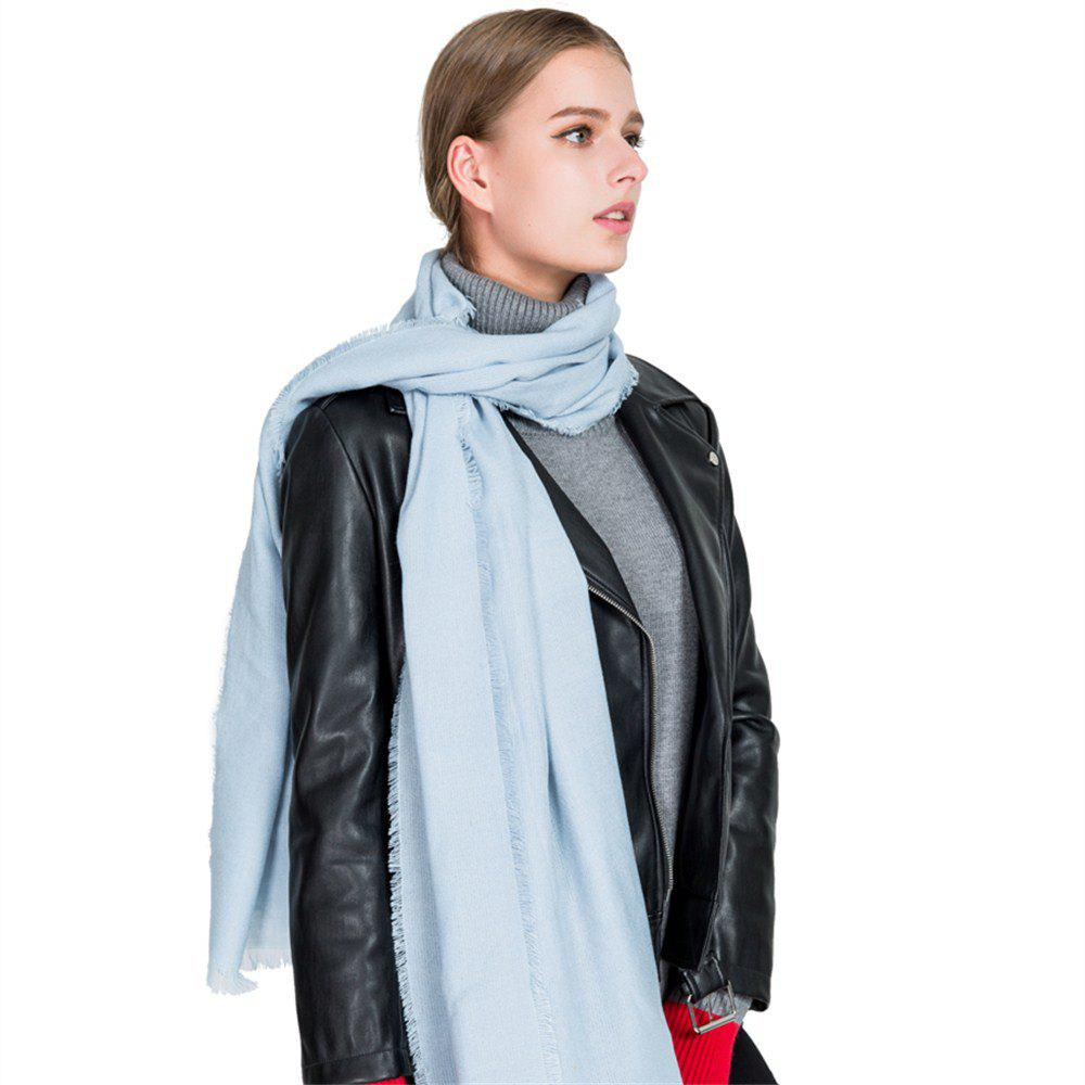 Trendy M1724 All-Match Four Color Scarf Bristles