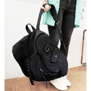 1PC Computer Backpack Large Capacity Bags  Couple Canvas Bag -