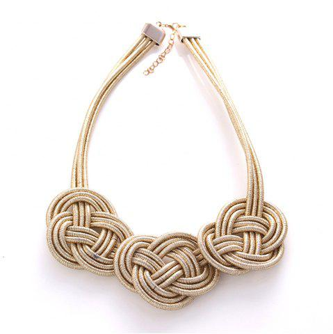 Shop Fashion Compile Chinese Knot Necklace Jewelry