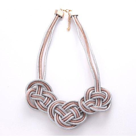 Unique Fashion Compile Chinese Knot Necklace Jewelry