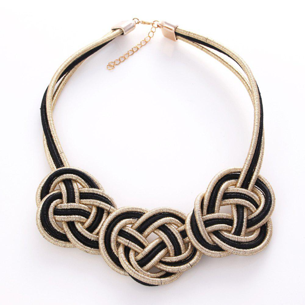 Outfit Fashion Compile Chinese Knot Necklace Jewelry