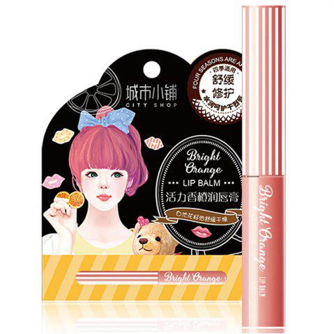 Latest City Shop NCS101 Orange Lip Balm 1.4G