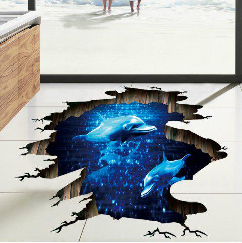 Cheap Blue  Dolphin Kids Rooms Living Room Bedroom Stickers Art Home Decor