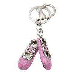 Shoe Keychain Creative Fashion Refinement Lady Gift Hollow Shoes Keyring Key Chain -