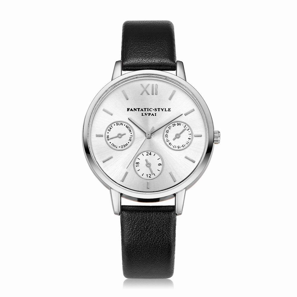Online Lvpai P093-S Women Casual Leather Strap Quartz Watches
