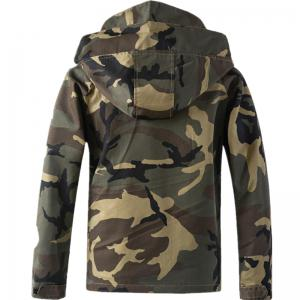 New Spring Camouflage Hooded Jacket -