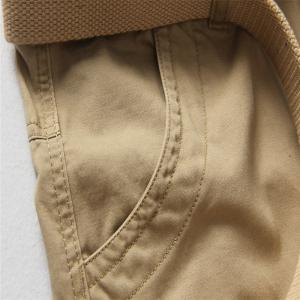 Loose Tooling All-Match Pocket Leisure Pants -