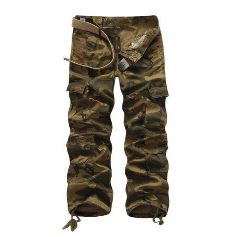 Fashion Loose Tooling All-Match Pocket Leisure Pants