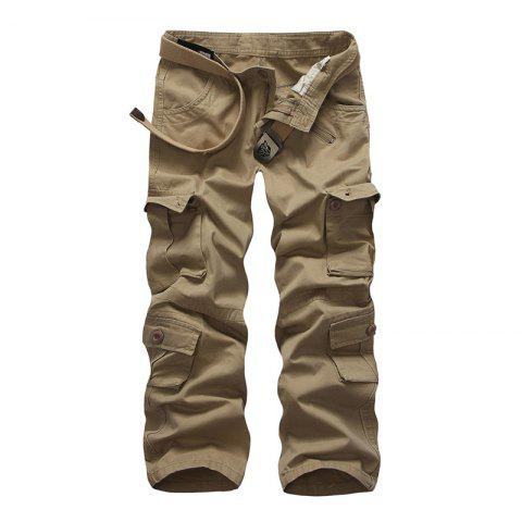 Latest Loose Tooling All-Match Pocket Leisure Pants