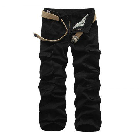 Cheap Loose Tooling All-Match Pocket Leisure Pants